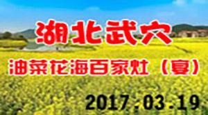 湖北武穴油菜花海百家灶(宴)