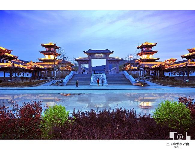 <span>诸葛亮文化旅游区——夜景</span>