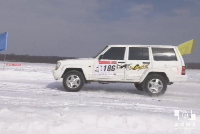 2018首届中俄界江冰雪汽车挑战赛在呼玛举行