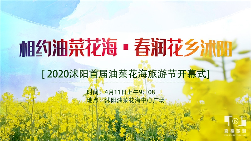 2020沭阳首届油菜花海旅游节开幕式