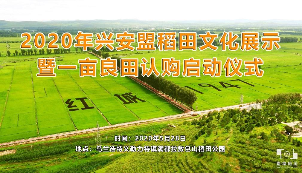 2020年兴安盟稻田文化展示暨一亩良田认购启动仪式